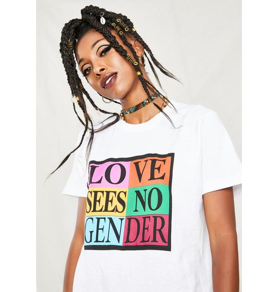 Cross Colours Love Sees No Gender T-Shirt