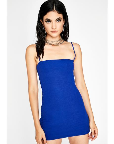 Royal It Girl Mini Tank Dress