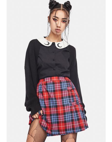 Babe Plaid Skirt
