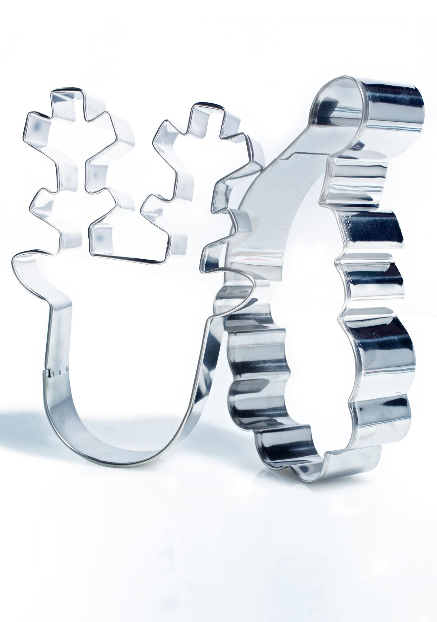 Rein-Cheer Cookie Cutters