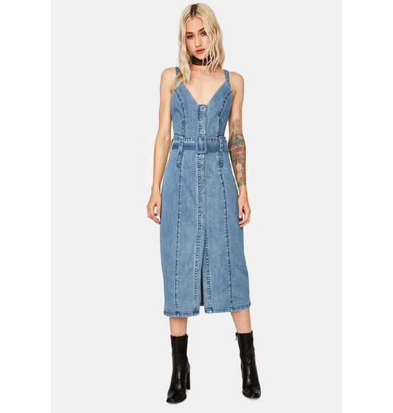 Finders Keepers Coco Midi Dress