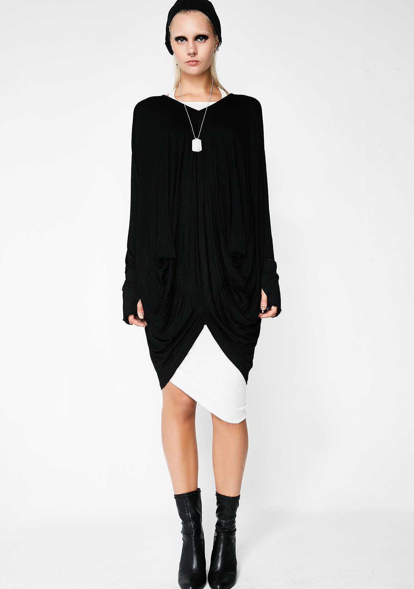 MNML Nova Long Sleeve Blouse