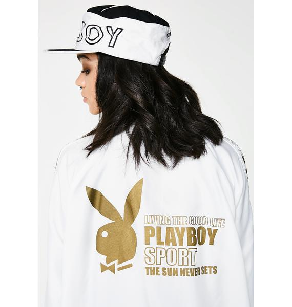 Vintage Playboy Sport Windbreaker