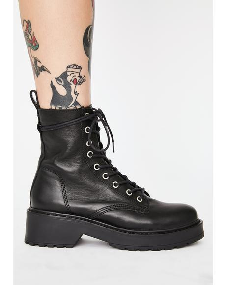 Tornado Leather Ankle Boots