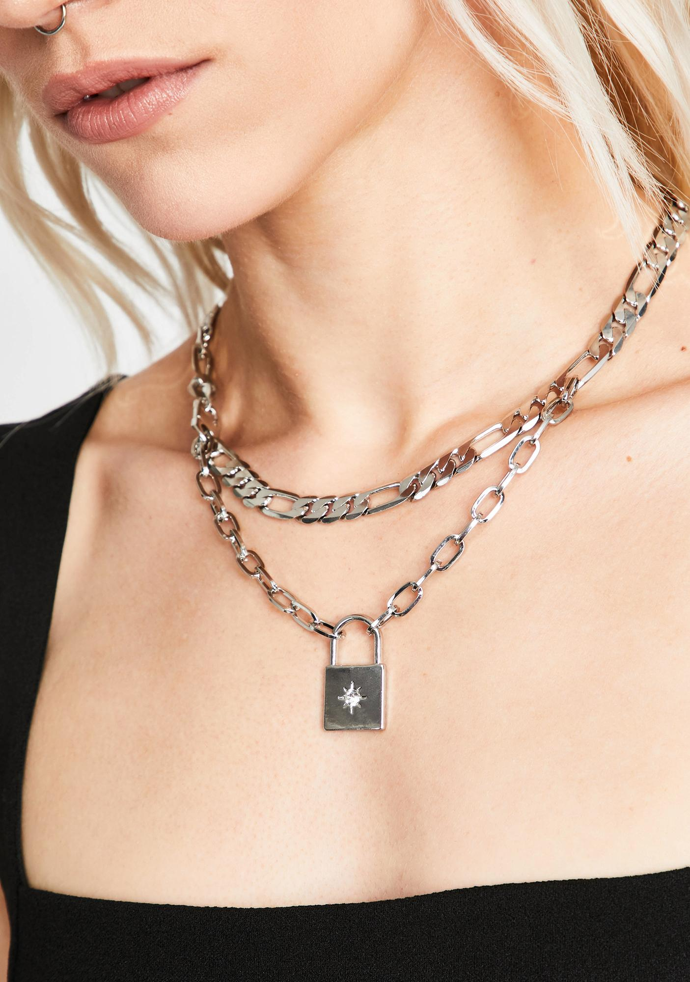 Starlust Lockdown Chain Necklace