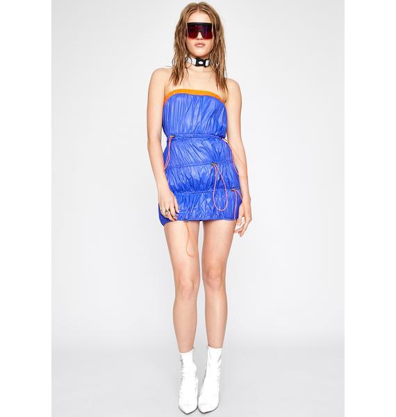 Puff Puff Pass Mini Dress