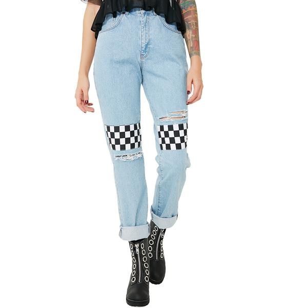 The Ragged Priest Racer Jeans