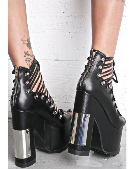 Heavy Metal Ballet Bae Platforms