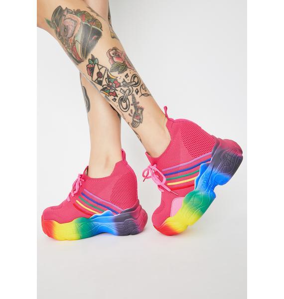Anthony Wang Baby Euphoria Ecstasy Platform Sneakers