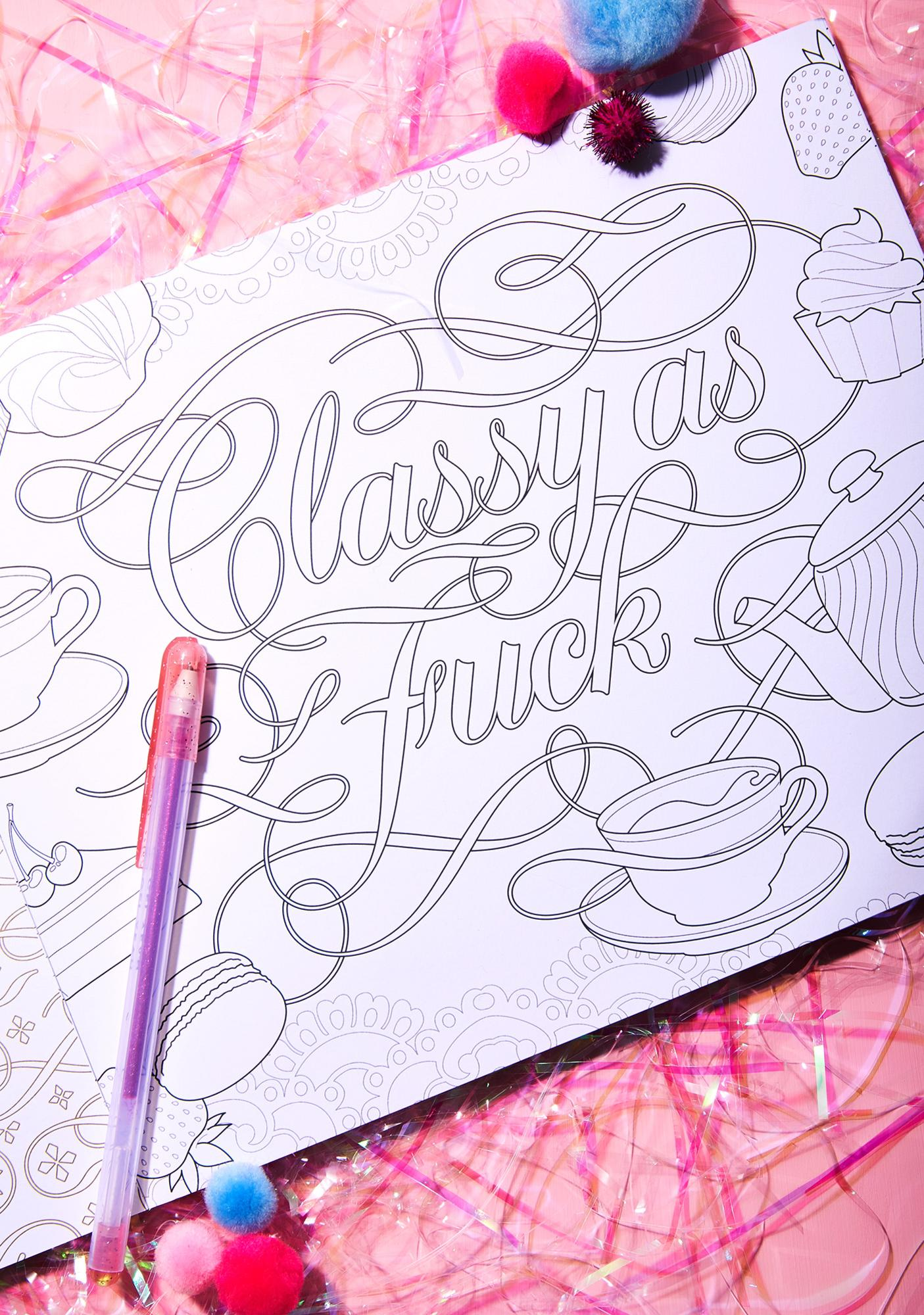 F*cking Awesome Colouring Book