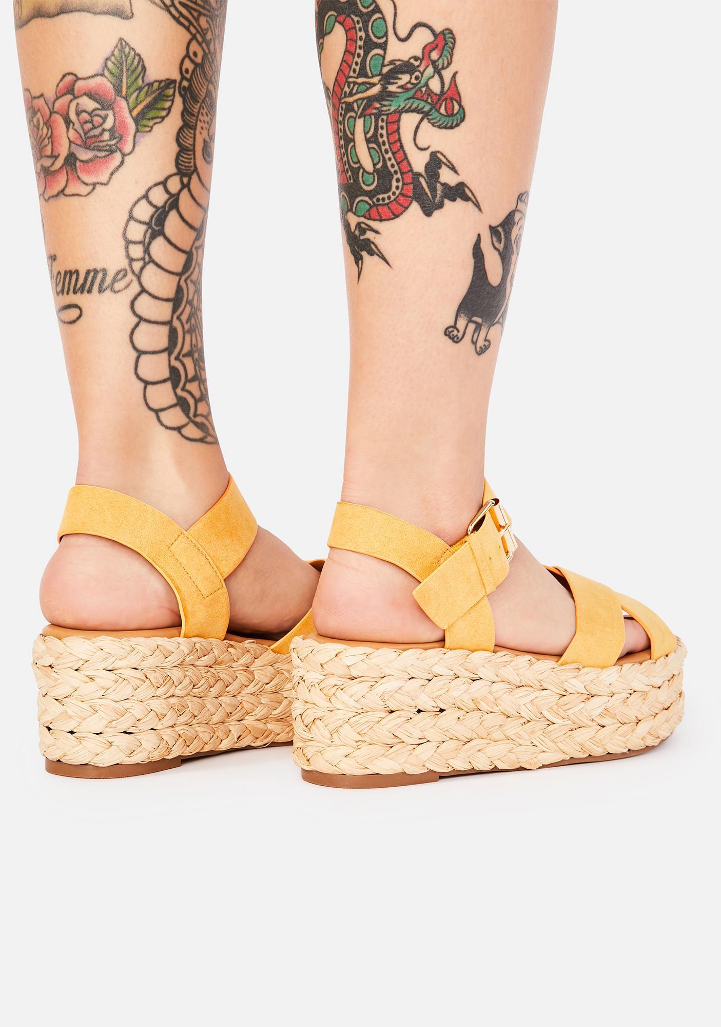 Saffron What A Day Espadrille Sandals