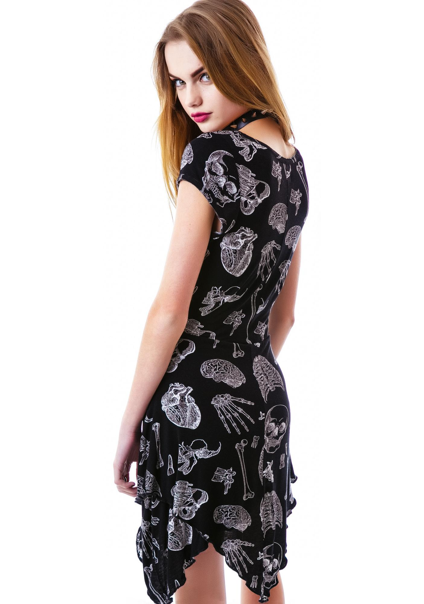 Sourpuss Clothing See Through Me Dress