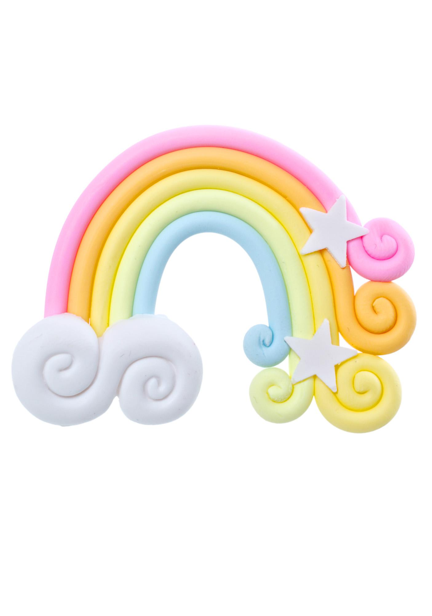 Rad and Refined Pastel Rainbow Ring