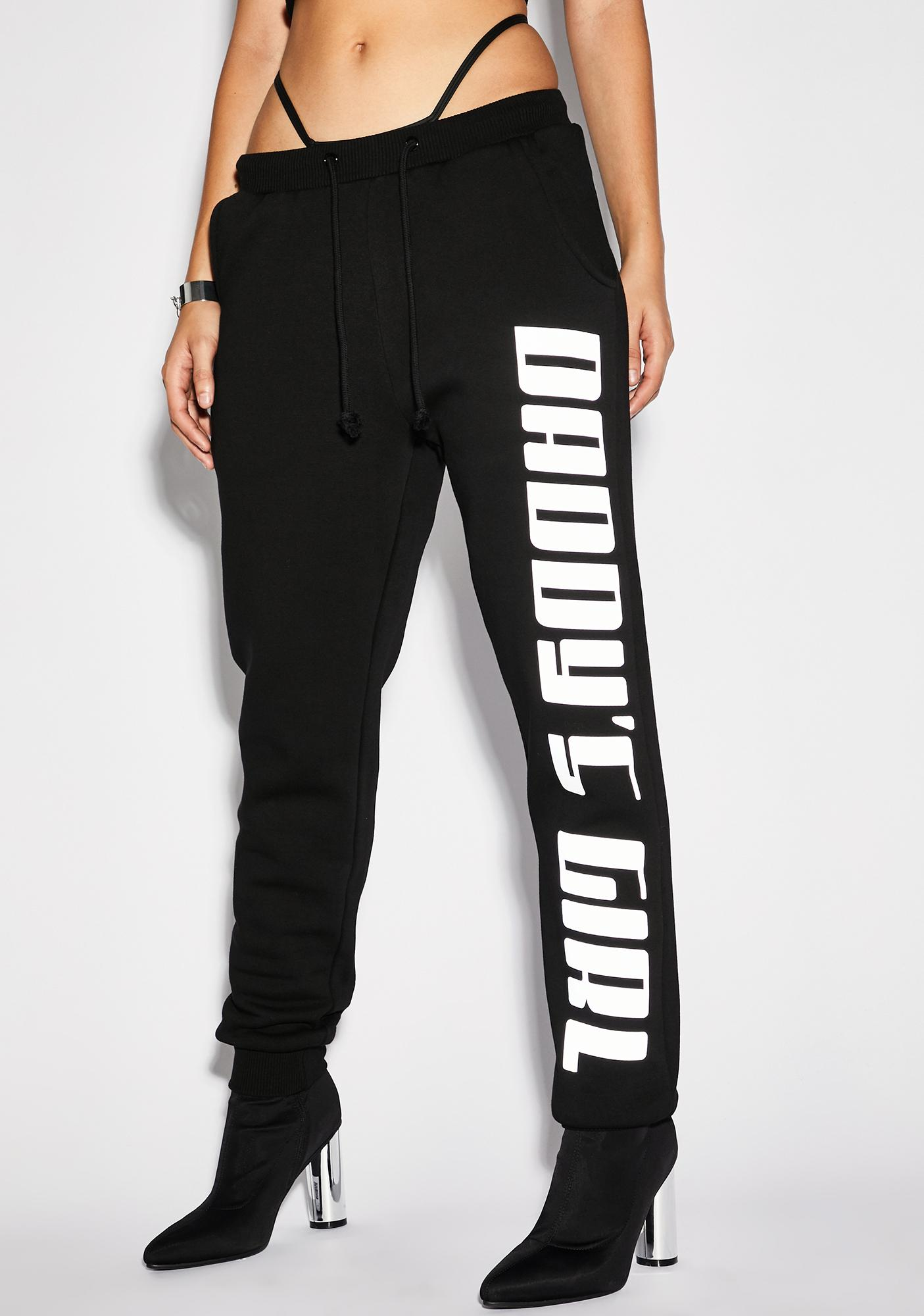 Poster Grl Daddy's Grl Reflective Joggers