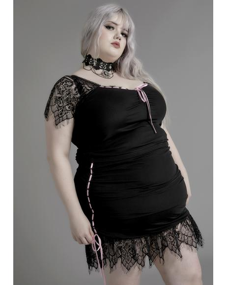 Miss Enchanted Marionette Lace Skirt