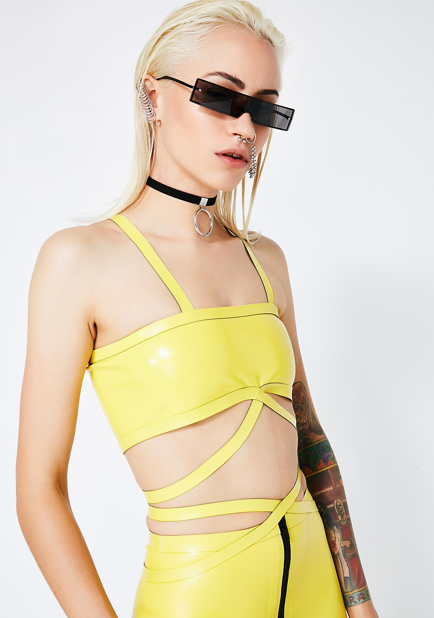 Meat Clothing Deadly Tube Wrap Top