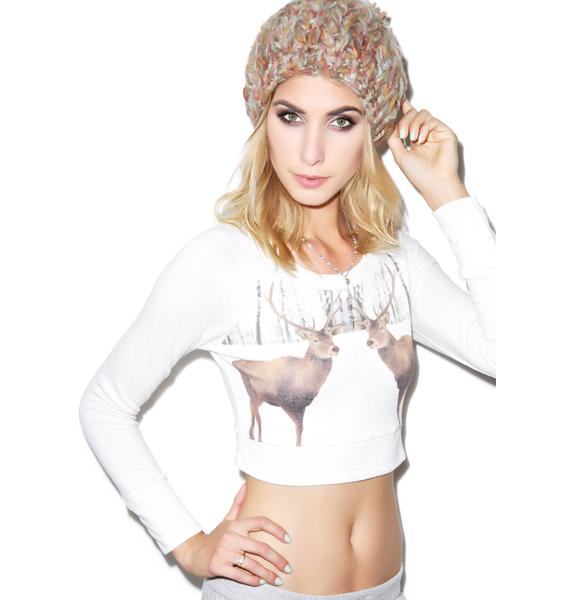 All Things Fabulous Deer Cropped Cozy