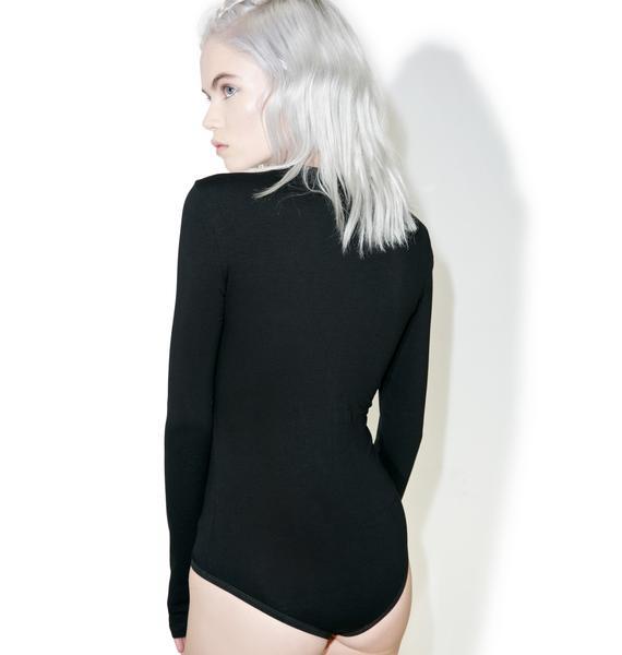 Glamorous Circlet O-Ring Bodysuit