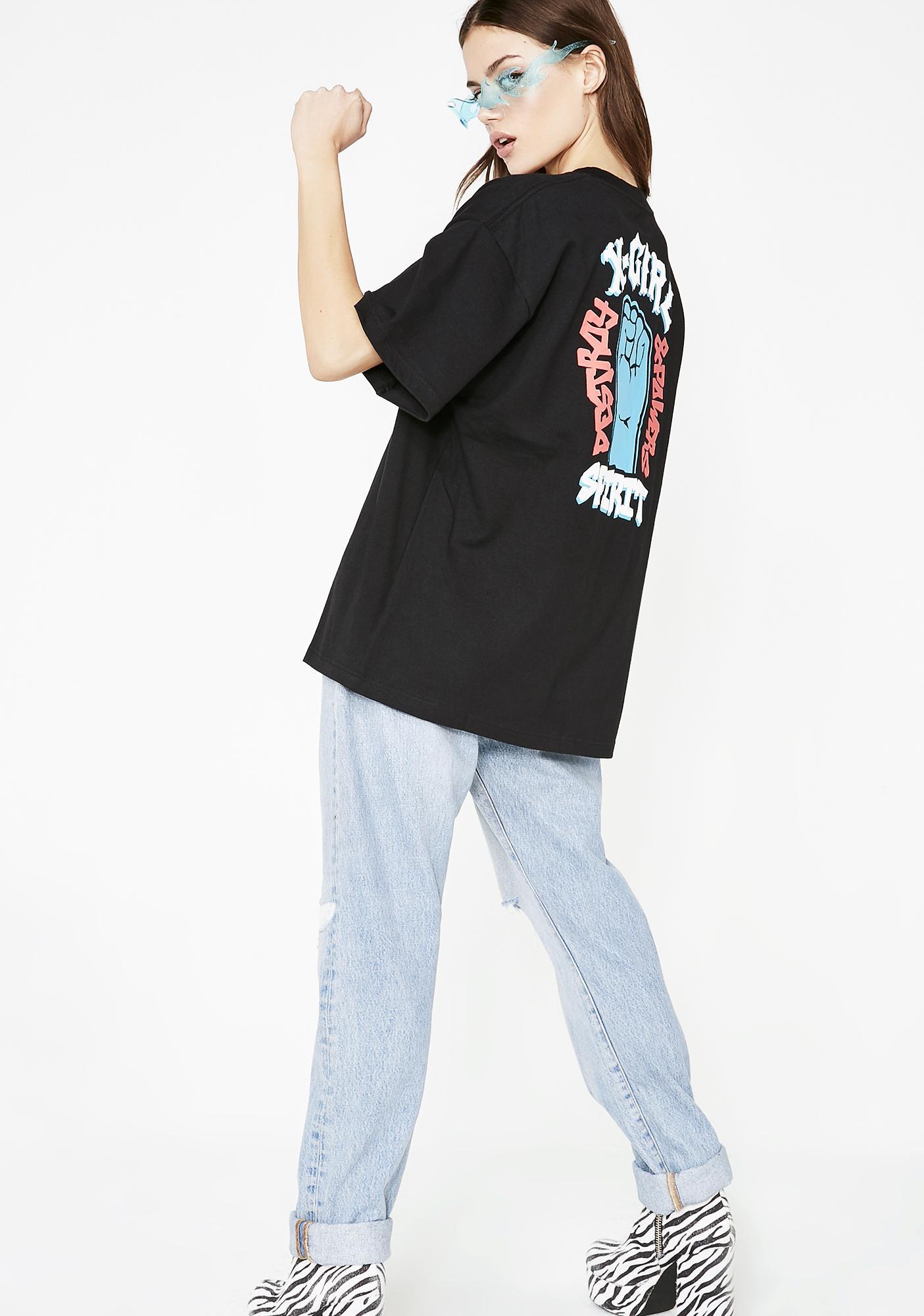 x-Girl Fist Short Sleeve Tee