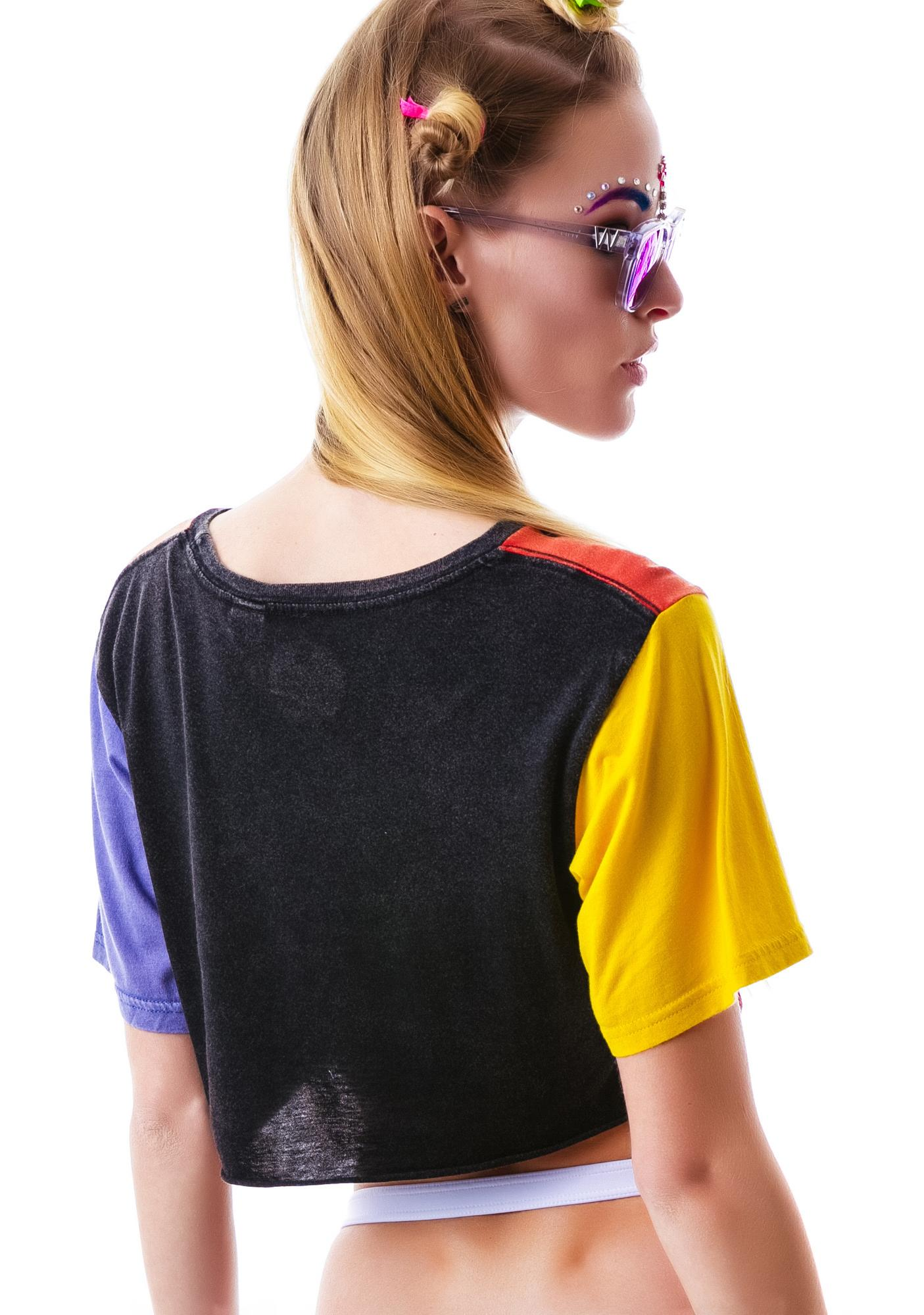 Chronic Chillers Crop Tee