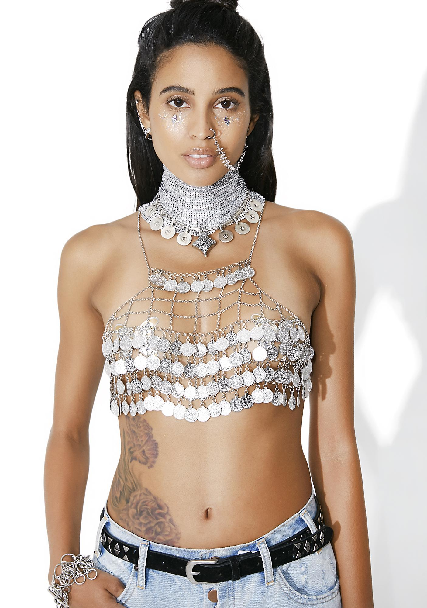 Buried Treasure Chain Bra