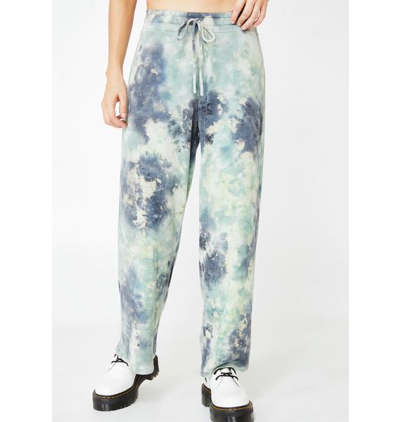 Sky High Tie Dye Pants