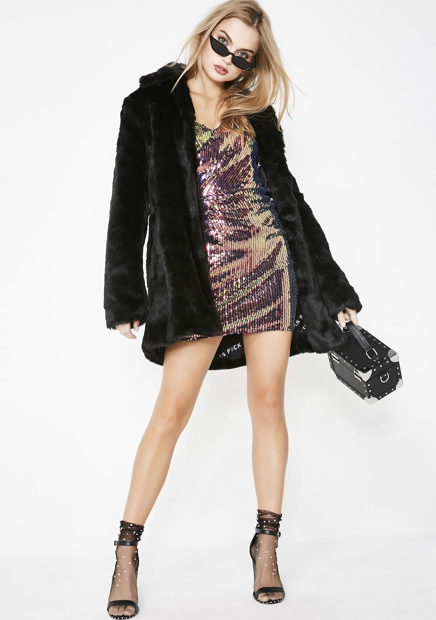 Life Of The Party Sequin Dress