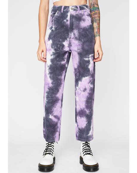 Magic Wild Energy Tie Dye Pants