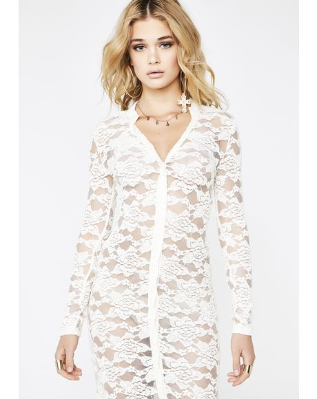 Pure Vibrations Lace Dress
