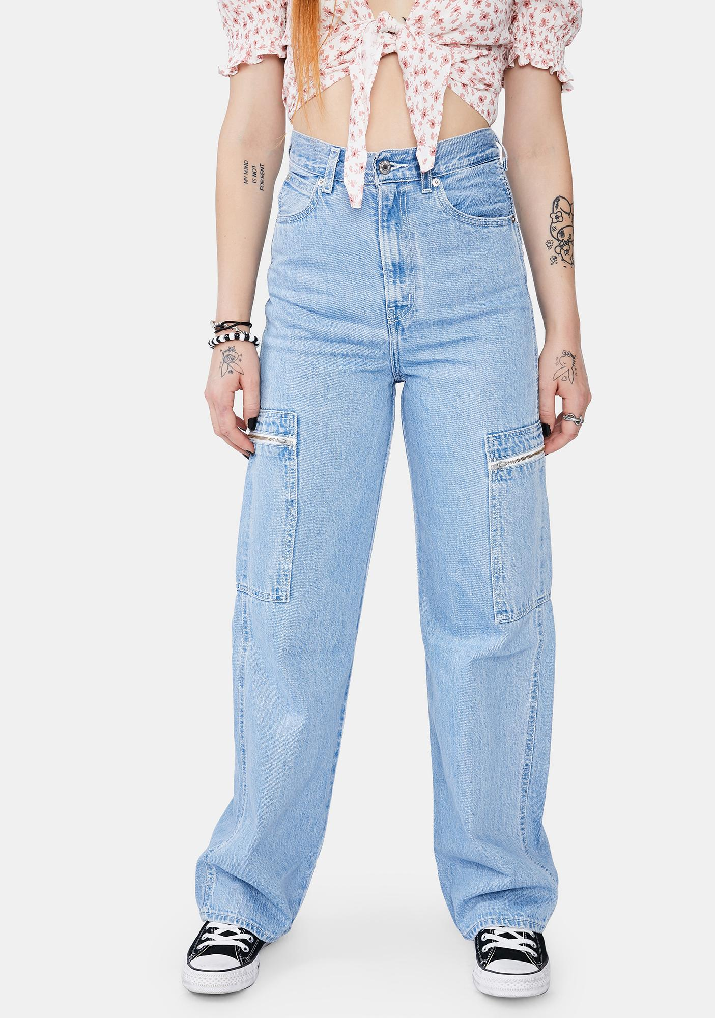 Levis Utility High Loose Jeans