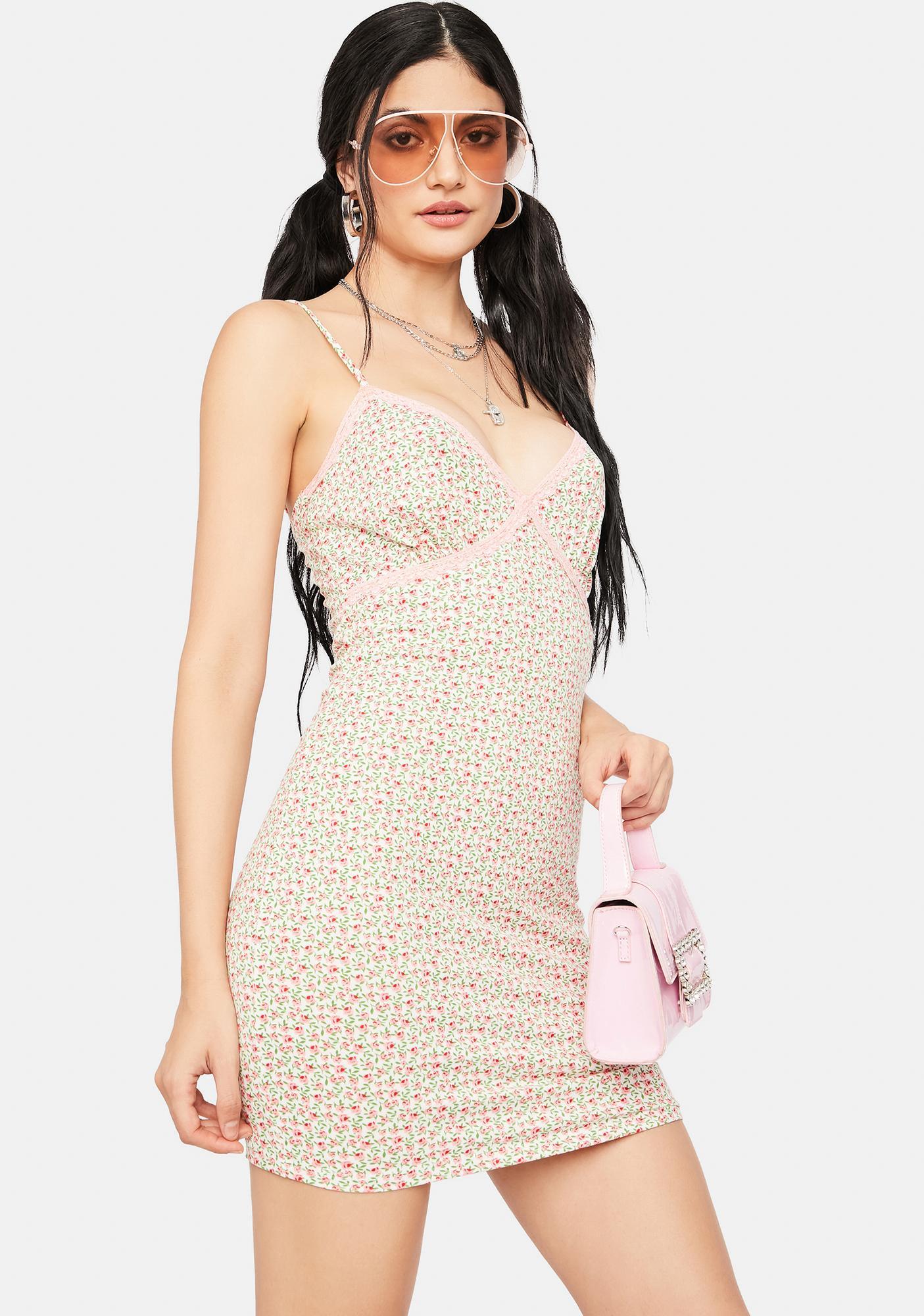 Enough Is Enough Floral Mini Dress