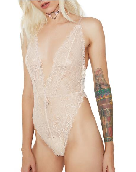 Say Please Lingerie Bodysuit