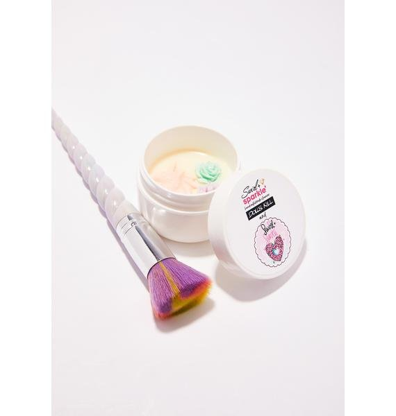 Swirl and Sparkle Unicorn Brush Cleaner