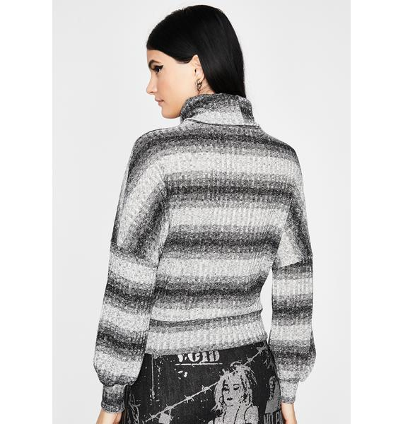 True Sparkle Turtleneck Sweater