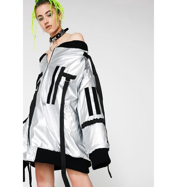 Namilia Oversized Drop Shoulder Jacket