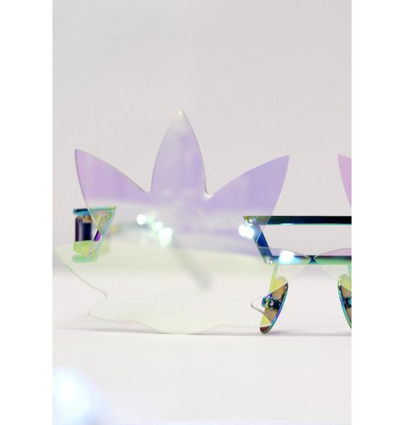 ESQAPE Hologram Leaf Speqz Sunglasses