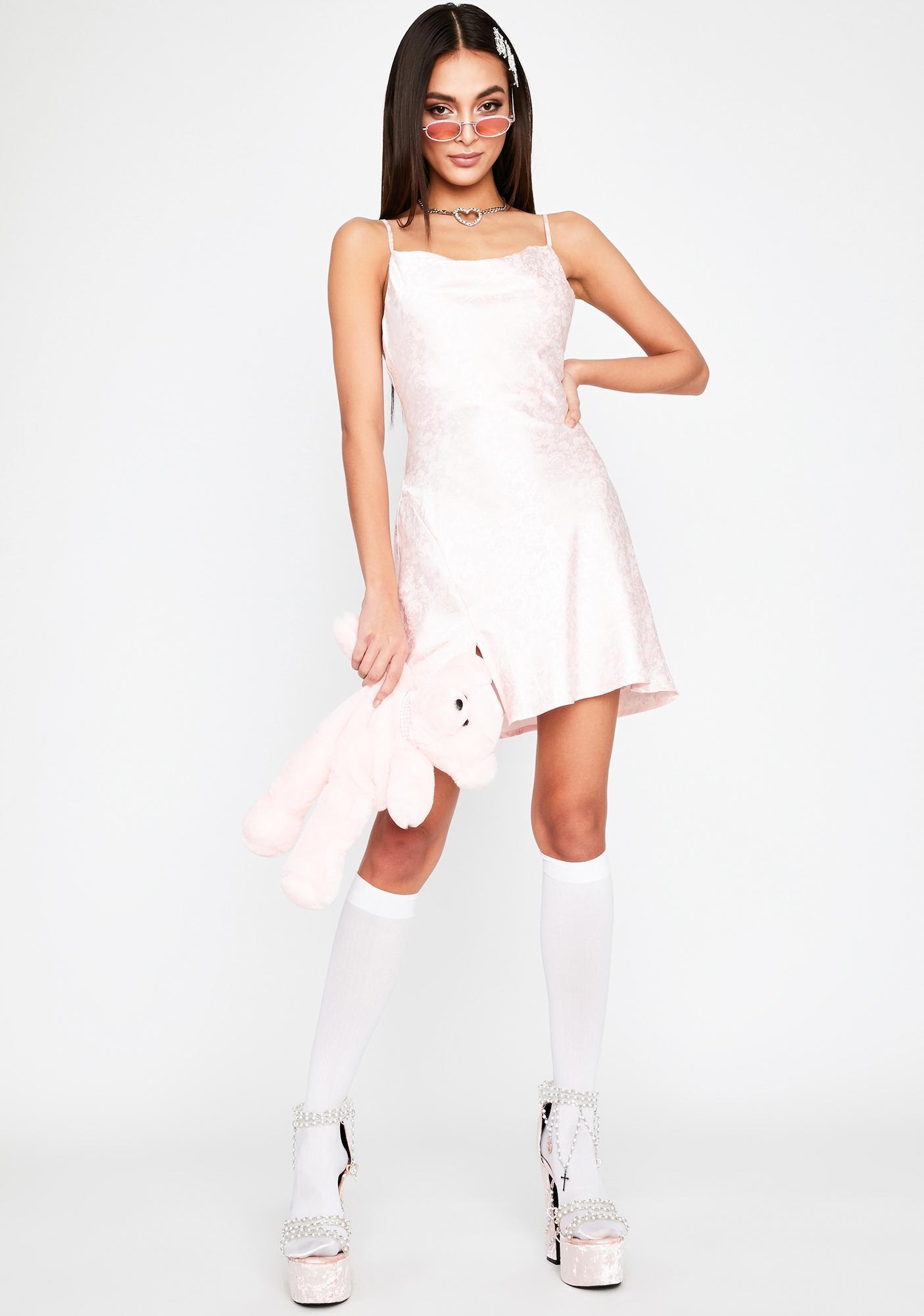 Bae Mood Is Right Slip Dress