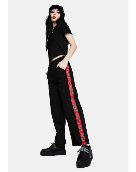 Bratty Straight Leg Pants