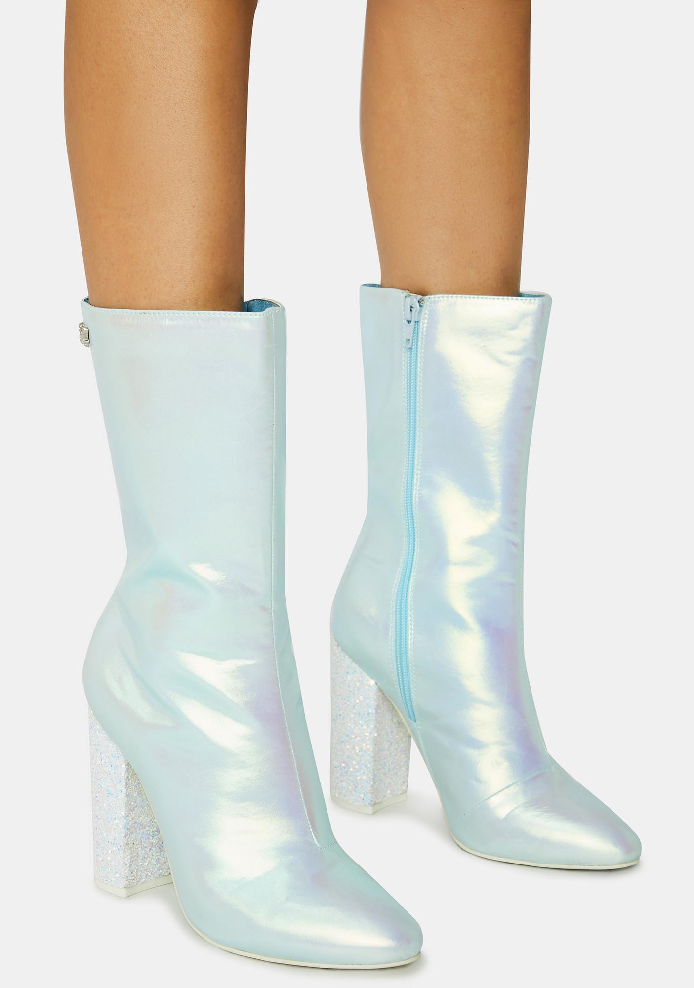 Sparkl Fairy Couture Blue Fairy Mini Boots