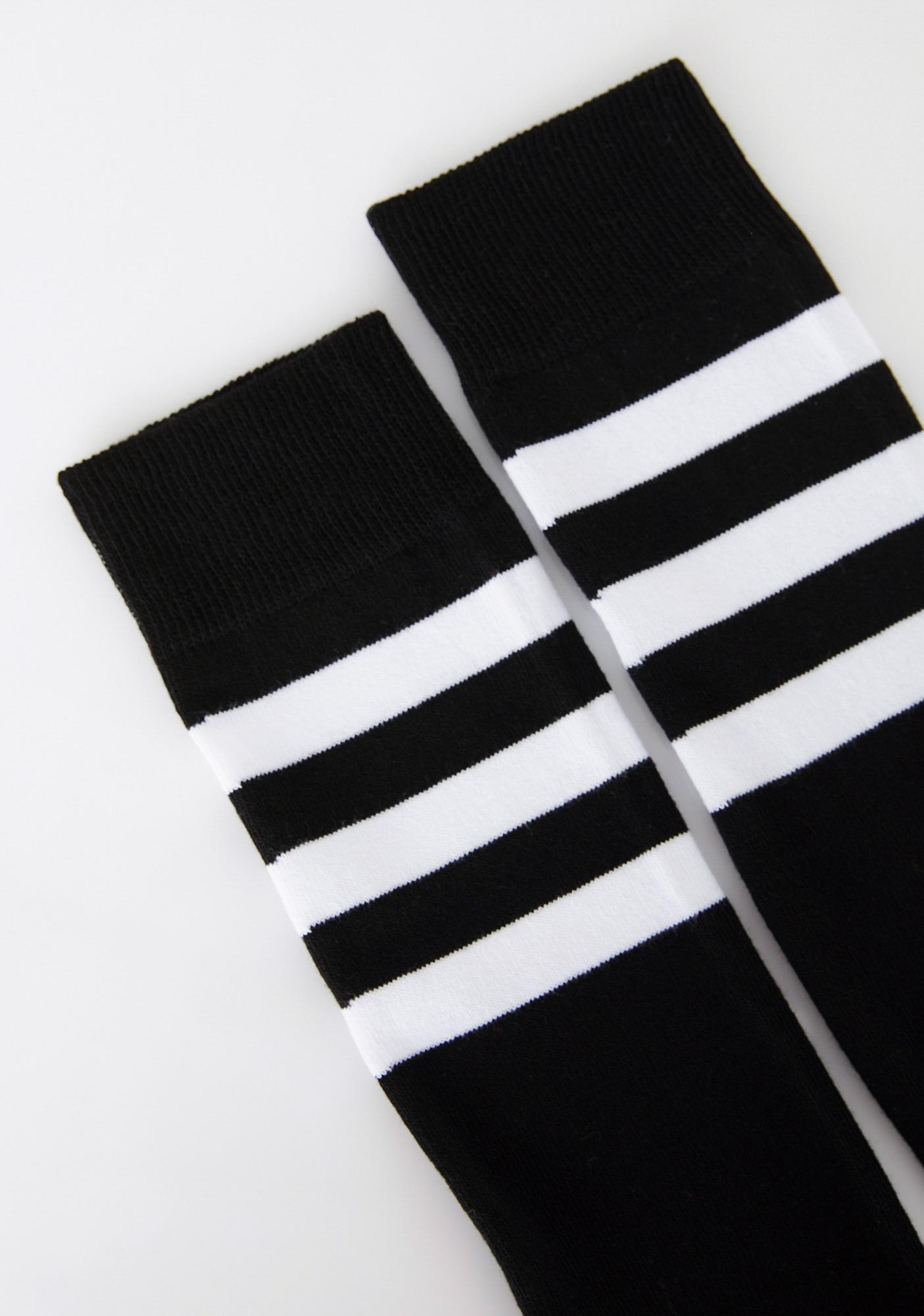 4c028b8dc ... Flag On The Play Thigh High Socks ...
