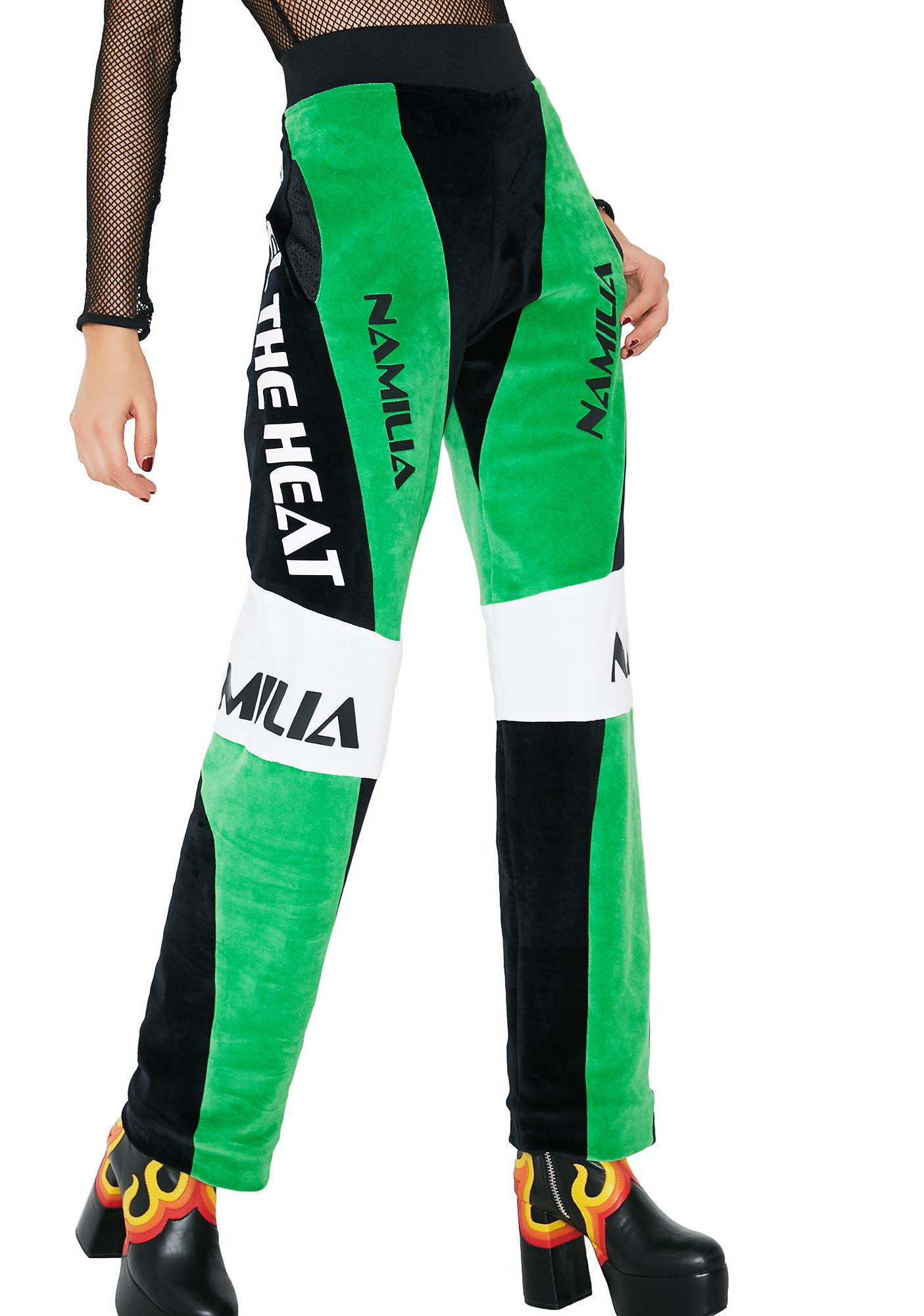 Namilia Velour Motocross Trousers
