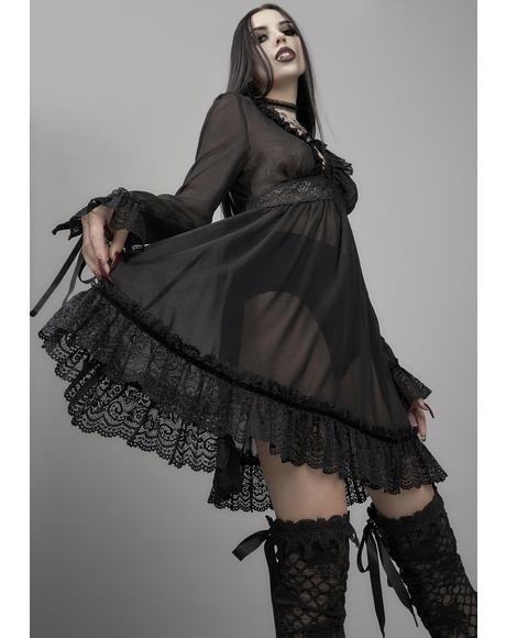 Sinners And Saints Chiffon Dress