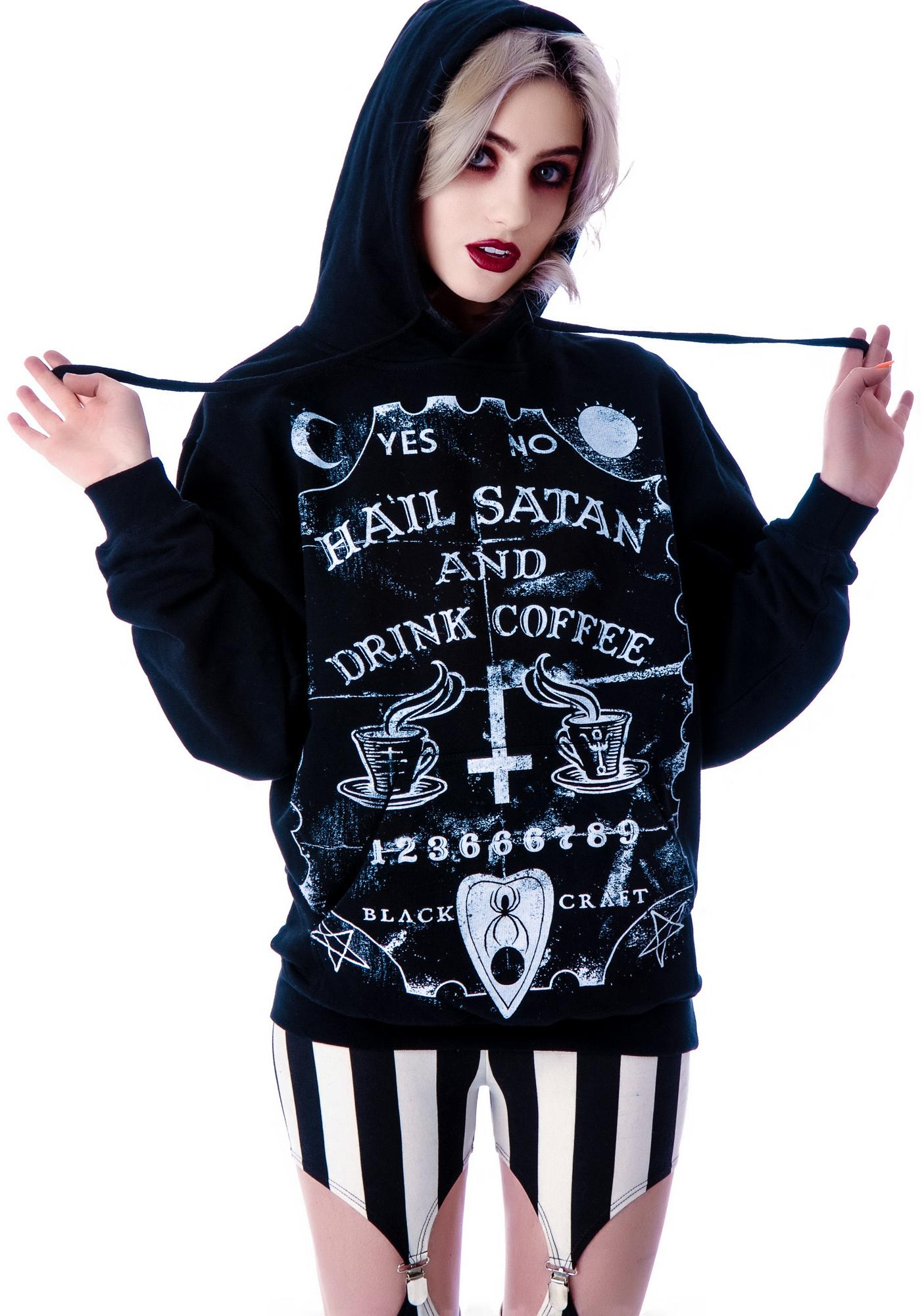 Blackcraft Hail Satan Hoodie