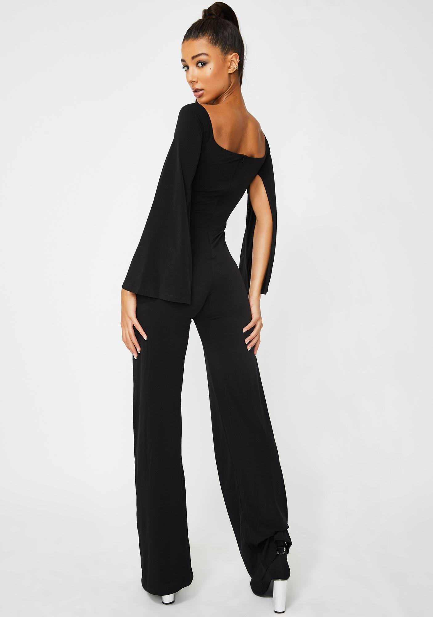 Kiki Riki Dark Decisions Cutout Jumpsuit