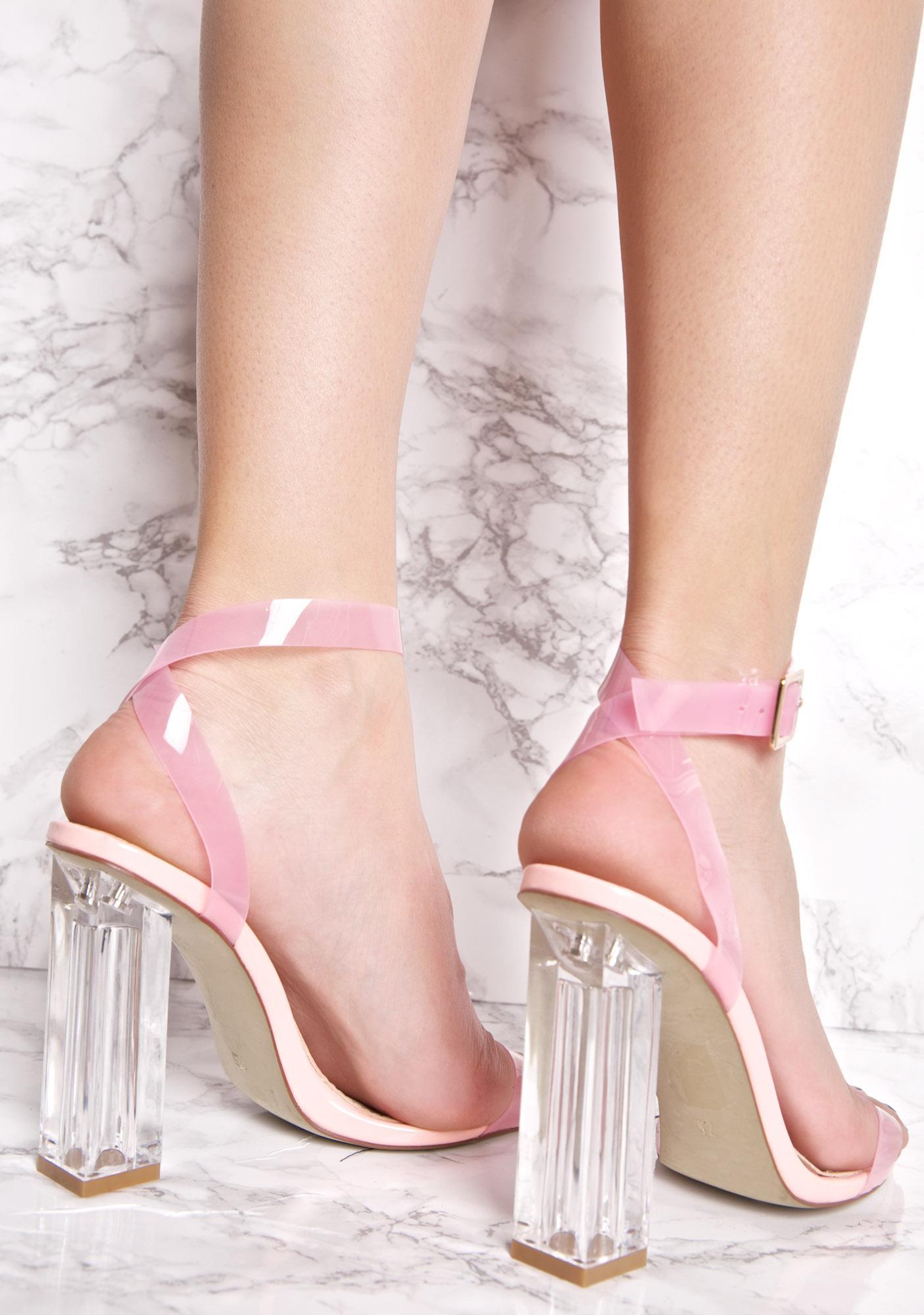 b3a5c66a71e ... Sweet Venus Lucite Heels ...