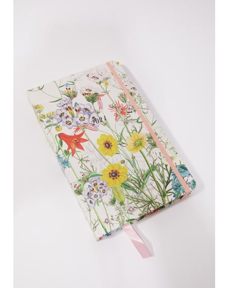 Floral Party 2021 12 Month Planner