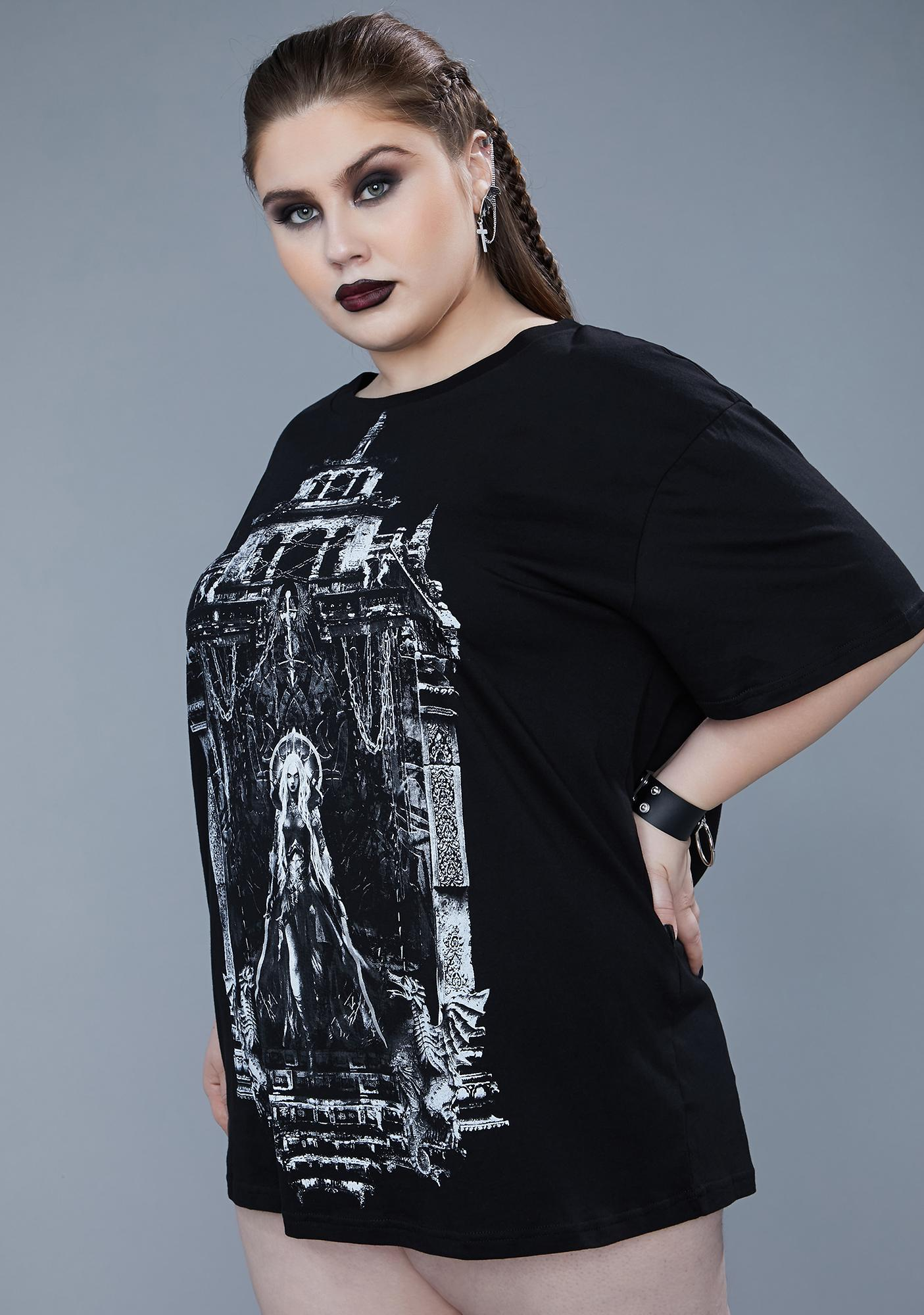 Widow Always Do The Wrong Thing Graphic Tee