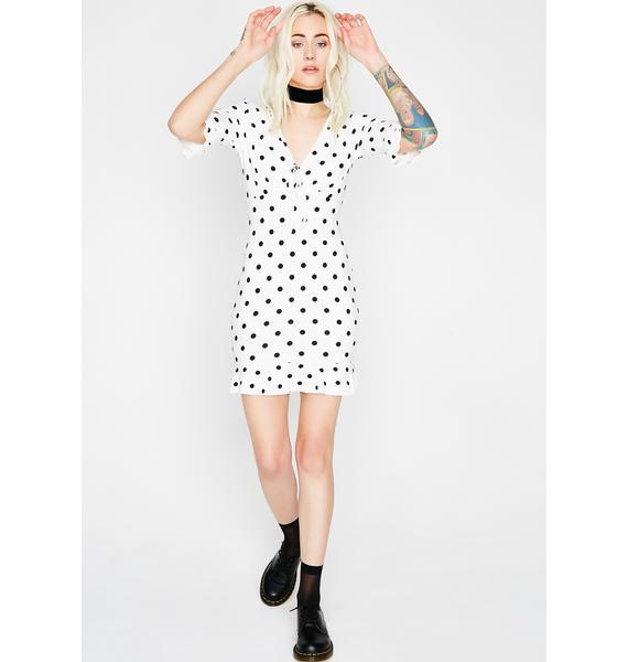 Spot Me Polka Dot Dress