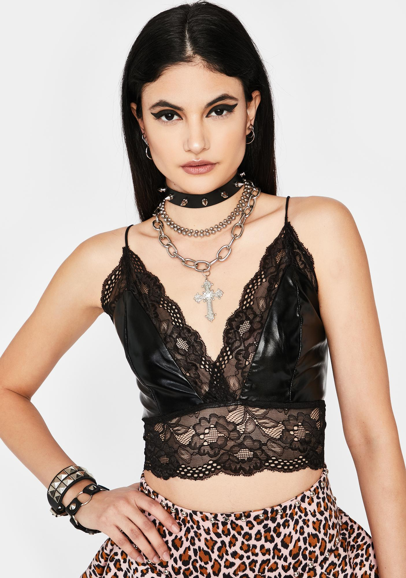 Call For Me Lace Bra Top