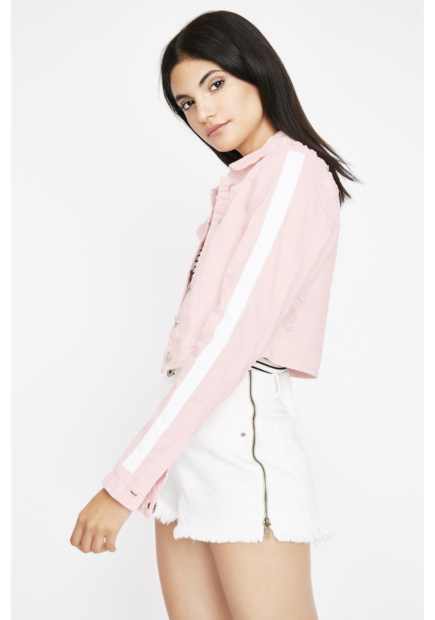Sweet On To The Next Crop Jacket